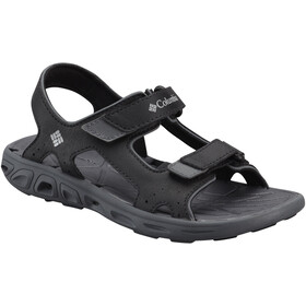 Columbia Techsun Vent Sandalias Niños, black, columbia grey